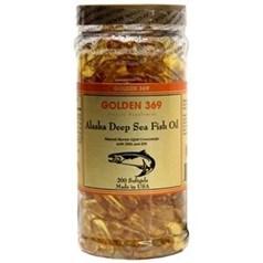 Golden 369黄金369牌美国阿拉斯加深海鱼油 200胶囊图片