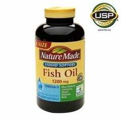 Nature Made1200毫克鱼油胶囊400粒图片