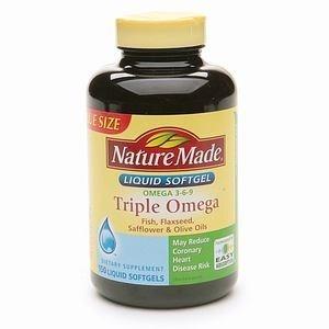 Nature Made三倍欧米茄液体软胶囊150粒 图片