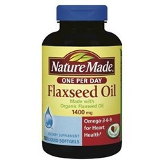 Nature Made 1400 毫克亚麻籽油100粒图片
