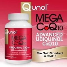 Qunol牌巨型抗氧化辅酶Q10 100 毫克,120 粒图片