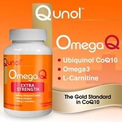 Qunol ™ OmegaQ 辅酶 Q10 和欧米茄 3,100 粒图片