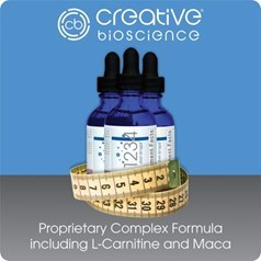 Creative牌1234 减肥剂 3瓶 170克图片
