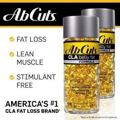 AbCuts牌肚腩减脂配方 2 x 120胶囊图片