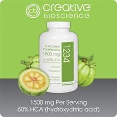 Creative Bioscience 1234藤黄果素食瘦身胶囊 180粒图片