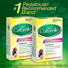 Culturelle儿童咀嚼益生菌 60片图片