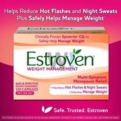 Estroven更年期减肥瘦身胶囊 120粒图片