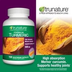 trunature®姜黄素食胶囊 150粒图片