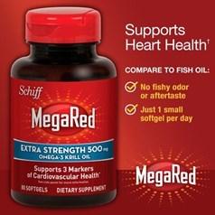 Schiff® MegaRed®明磷虾油胶囊(500毫克) 80粒图片
