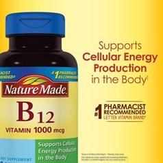 Nature Made维生素 B12胶囊 400粒图片