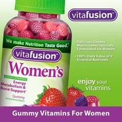 vitafusion女性复合维生素软糖 220粒图片