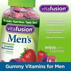 vitafusion男性复合维生素软糖 220粒图片