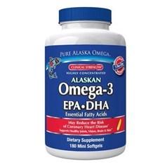 Pure Alaska Omega纯阿拉斯加欧米茄 3 EPA+DHA胶囊(500毫克) 180粒图片