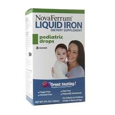 NovaFerrum婴幼儿液体铁滴剂 120毫升图片