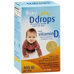 Ddrops婴儿维生素D滴(400IU单位) 60天用量图片