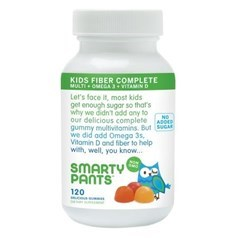SmartyPants小孩复合纤维维生素软糖 120粒图片