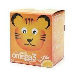 Coromega儿童 欧米茄3+D3冲剂 香橙口味 30包图片