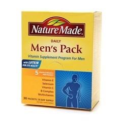 Nature Made日常男性维生素 30天用量图片