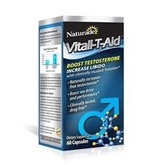 Naturade Vitali-T-Aid男性睾酮增强胶囊 60粒图片