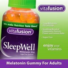 vitafusion褪黑激睡眠辅助软糖 250粒图片