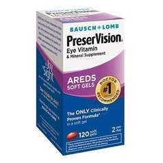 PreserVision护眼维生素和矿物质 120粒图片