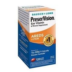 PreserVision护眼维生素和矿物质叶黄素胶囊 120粒图片