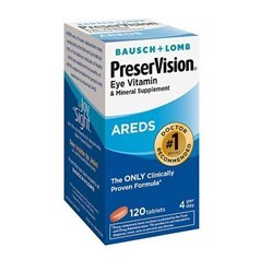 PreserVision博士伦护眼维生素和矿物质AREDS片 120片图片