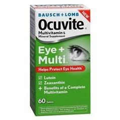 Ocuvite牌护眼抗氧化维生叶黄素素片 60粒图片
