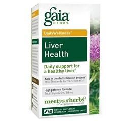 Gaia Herbs护肝液体胶囊 60粒图片