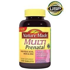Nature Made孕产妇综合维生素片 250粒图片
