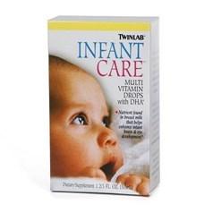 Twinlab 婴儿复合维生素+DHA滴剂 50毫升图片