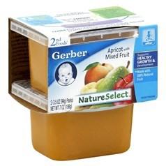 Gerber 嘉宝2段辅食什锦水果果泥 198克,2瓶图片