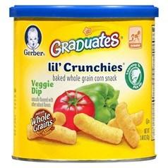 Gerber嘉宝蔬菜味泡芙松脆条 42克图片