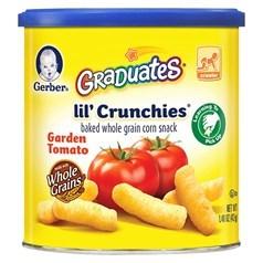 Gerber嘉宝番茄泡芙松脆条 42克图片