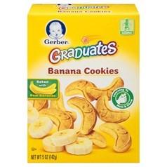 Gerber嘉宝香蕉饼干 142克图片