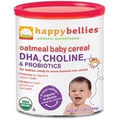Happy Bellies禧贝有机燕麦DHA益生菌二段米粉 198克图片