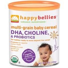 Happy Bellies禧贝有机多谷DHA益生菌三段米粉 198克图片