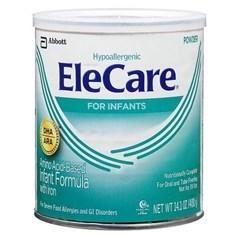 Similac雅培EleCare婴儿氨基酸脱敏配方奶粉(无味,1岁以内) 400克图片