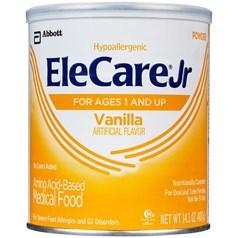Similac雅培EleCare婴儿氨基酸脱敏配方奶粉(香草味) 400克图片