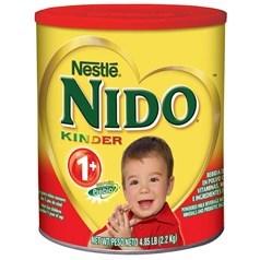 美国版Nestle雀巢 NIDO一岁以上幼儿奶粉(含益生元) 2200克图片