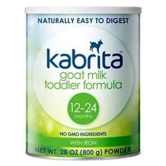 美国版Kabrita 牌幼儿配方羊奶粉(12-24个月,非转基因羊奶) 800克图片