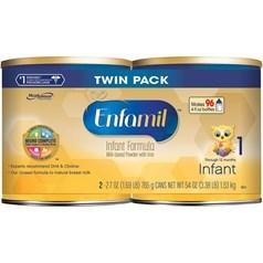 Enfamil 美赞臣金樽一段(0-12个月)婴儿配方奶粉,两罐,共1530克图片