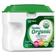 美国版Similac雅培有机一段婴儿配方奶粉 658克图片