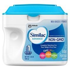 Similac雅培金盾一段奶粉(非转基因) 一罐  658克图片