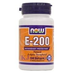 Now Dry维生素E-200软胶囊 100粒图片