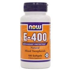 Now 维生素E-400素食胶囊 100粒图片