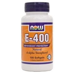 Now Foods牌天然维生素E-400素食胶囊 100粒图片