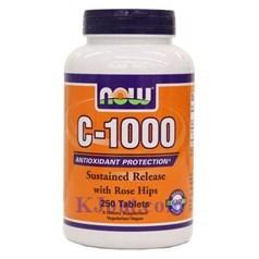 Now Foods牌缓释维生素C 1000毫克 250片图片