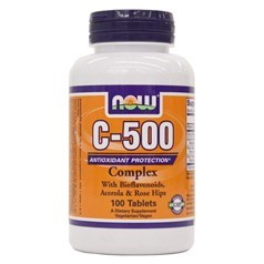 Now Foods牌复合维生素C 500毫克 100片图片