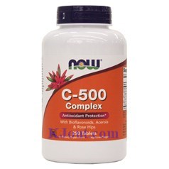 Now Foods牌复合维生素C 500毫克 250片图片